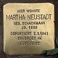 Stolperstein Pariser Str 11 (Wilmd) Martha Neustadt.jpg