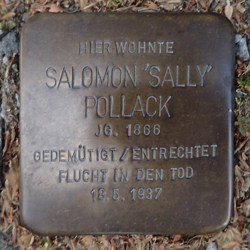 Stolperstein für Salomon 'Sally' Pollack
