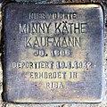 Stolperstein Wilhelmshöher Str 14 (Fried) Minny Käthe Kaufmann.jpg