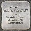 Stolperstein für Agnes Eva Sommer (Pecs).jpg