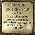 Stolperstein für Dr. Fritz Falk (Köln).jpg
