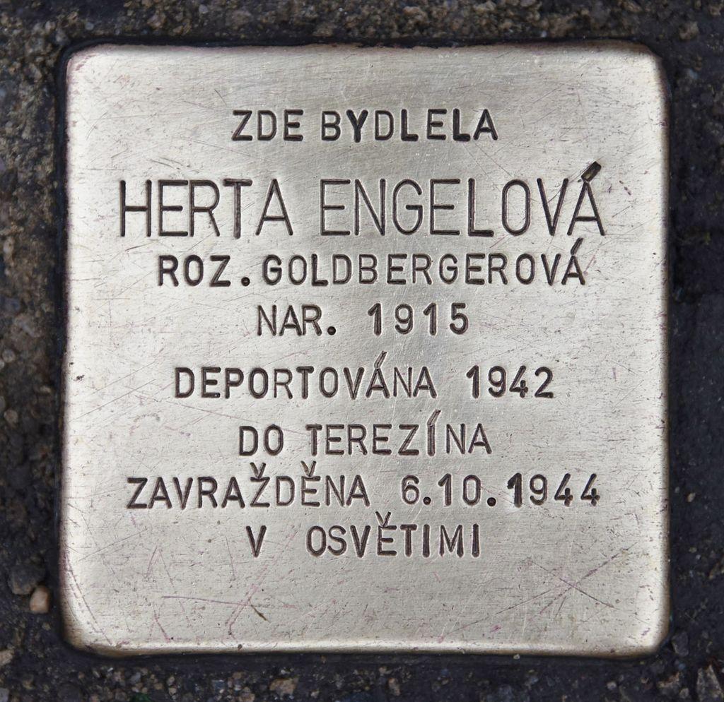 Stolperstein für Herta Engelová.JPG