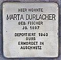Stolperstein für Marta Durlacher (Heidelberg).jpg