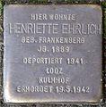 Stolpersteine Köln, Henriette Ehrlich (Nußbaumerstraße 7).jpg
