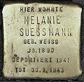 Stolpersteine Köln, Melanie Suessmann (Aachener Straße 28).jpg