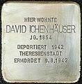 Stolpersteine Köln Aachener Strasse 409 Stolperstein David Ichenhaeuser 2.jpg
