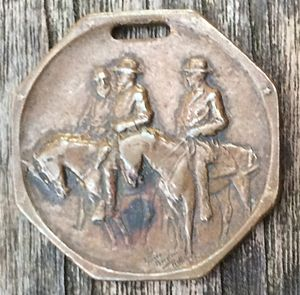 Stone Mountain Memorial half dollar - The Children's Founders Roll medal
