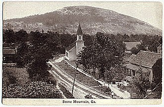 Stone Mountain, Georgia - Stone Mountain Village circa 1910