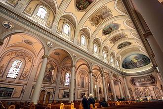 St. Paul's Basilica - Interior of St. Paul's Basilica
