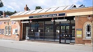 Stratford-upon-Avon railway station Railway station in Warwickshire, England