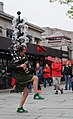 Street performer, Quincy Market (7208035144).jpg