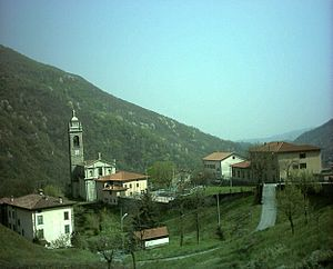 Panorama di Strozza