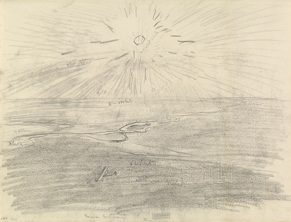 datei study for flying over the desert at sunset mesopotamia 1919 iwm art 4623 art iwmart4626 jpg