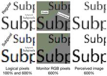 Subpixel rendering - Wikipedia, the free encyclopedia