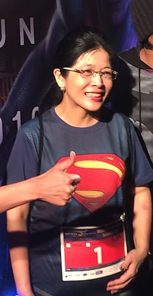 Sudarat at Batman V Superman Dawn of Justice Midnight Run Bangkok.jpg