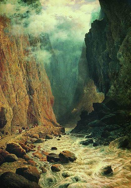 Дарьяльское ущелье и водопады Гвелети