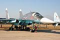 Suhkoi Su-34 Fullback 05 red (8583729016).jpg