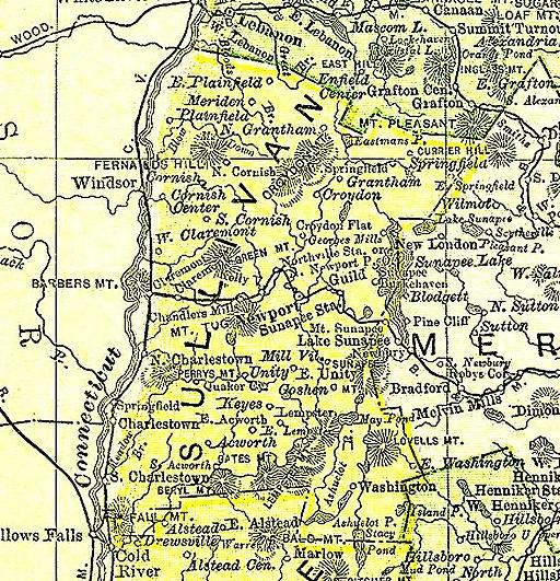 Sullivan County, NH 1895
