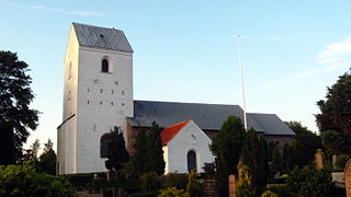 Sulsted Church church building in Aalborg Municipality, Denmark