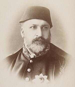 Pascal Sébah - Image: Sultan Abd ul Aziz P. Sebah (1838 1910)
