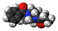 Sunifiram molecule spacefill.png