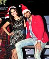 Sunny Leone and Tanuj Virwani at 'One Night Stand' promotions.jpg