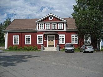 Suodenniemi - Suodenniemi Town Hall  - (former).