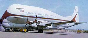 John M. Conroy - Super Guppy carrying a Saturn V Stage IVB