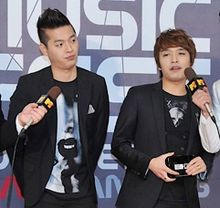 Supreme Team in February 2011 Left to right: E-Sens, Simon Dominic