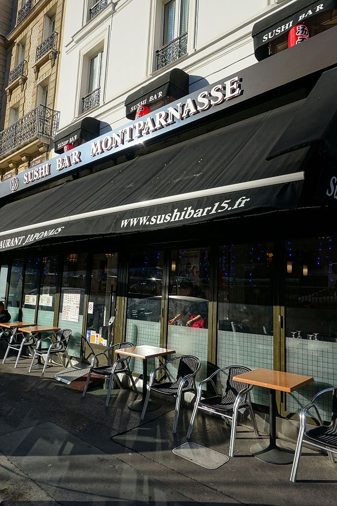File:Sushi Bar Montparnasse, 20 rue de l\'Arrivée, 75015 Paris ...