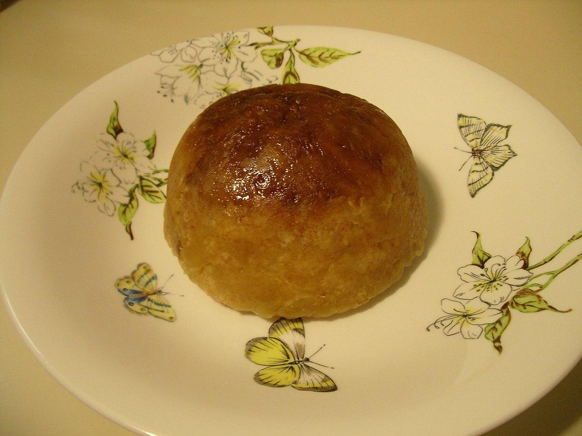 Lemon Pudding Filled Cake Recipe