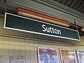 Sutton (Surrey) station signage.JPG