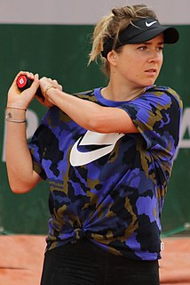 Elina Svitolina Ukrainian tennis player