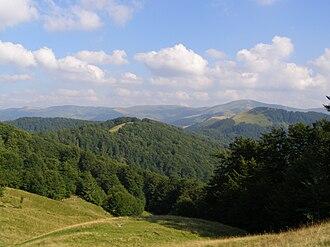 Svydovets - mountains of the Svydovets