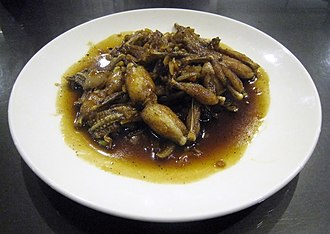 Swikee - Swike goreng mentega; stir-fried swikee in margarine sauce