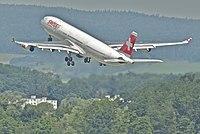HB-JMI - A343 - Swiss