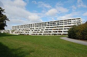 Friis & Moltke - Image: Syd facade af Vestervang i Århus, 2009 10 11