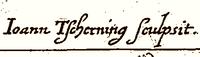 Sygnatura Jana Tscherninga.png