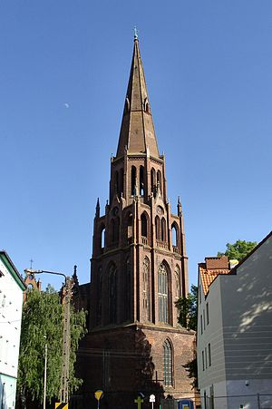 Dąbie, Szczecin - Church of the Immaculate Conception in Dąbie