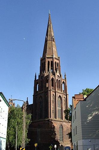 Dąbie, Szczecin - Church of the Immaculate Conception in Dąbie