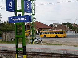 Tápiószecső train stop.jpg