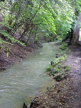 Canalul Timiș - Image: Tömöschkanal 5