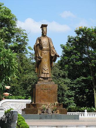 Li (surname 李) - Lý Thái Tổ, founder of the Vietnamese Lý dynasty