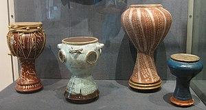 Toubeleki - Image: TOYMBELEKI (Pottery drum)