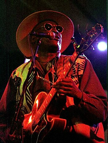 Taj Mahal at the 1997 North Sea Jazz Festival ...