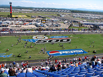 Talladega Superspeedway - Talladega Superspeedway after the repaving of the track.