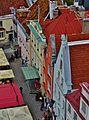 Tallinn Blick vom Rathausturm auf den Rathausplatz 3.JPG