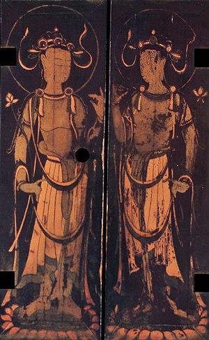 Tamamushi Shrine - Right doors