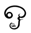 The symbol Aum in the Tamil script