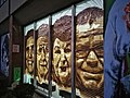 Tape art (street art) by Ostap & Selfmadecrew- Four portraits.jpg